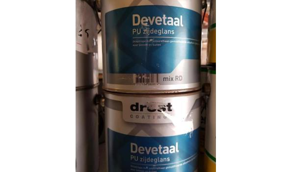 Drost Devetaal RAL3004, 2,5 liter, 2x