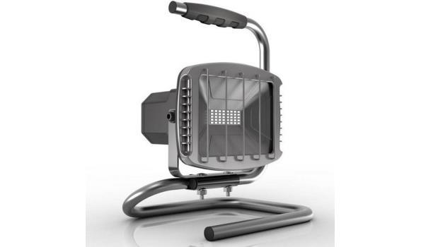 Bouwlamp LED met Bluetooth speaker