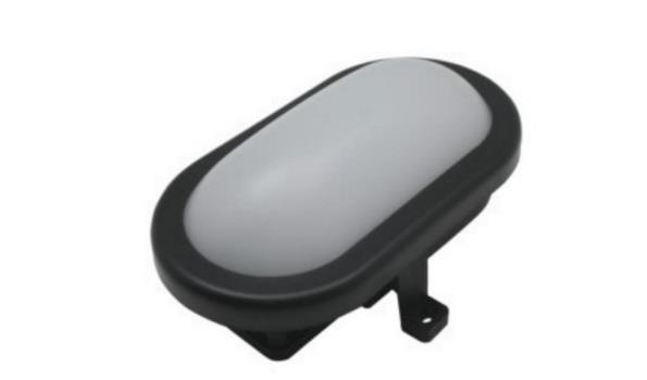 Bulleye LED, zwart, 2x