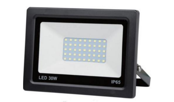 LED straler 30 watt, 10x