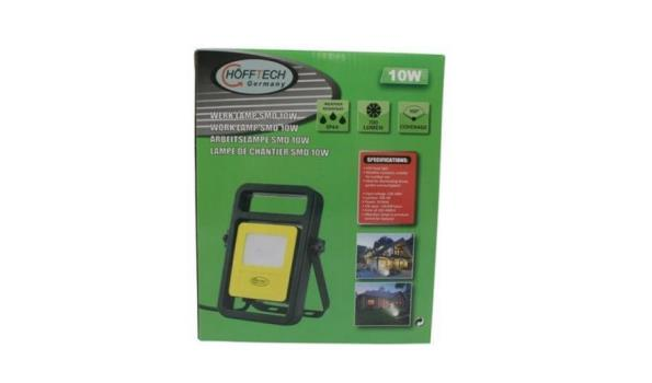 Werklamp LED SMD 10W