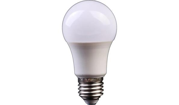 LED lamp E27, 9 watt, warmwit, 10x