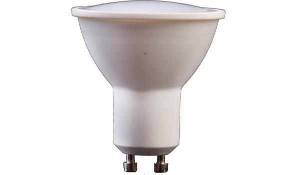LED lamp GU10, 3 watt, warmwit, 5x