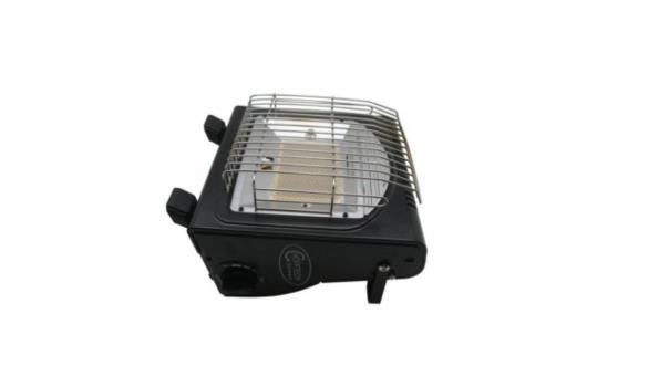 Gas heater & kookplaat in 1