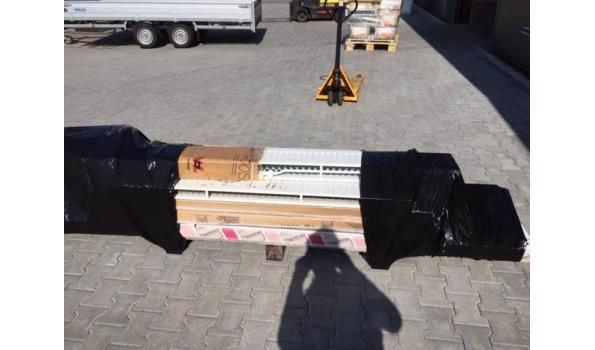 Paneel radiatoren, partij á 6 stuks