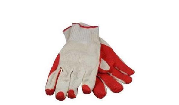 Werkhandschoenen Prevent oranje, 12 paar