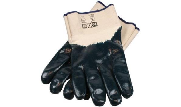 Werkhandschoenen Nitril, 12 paar