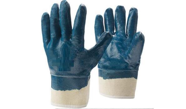 Werkhandschoenen PVC, 12 paar
