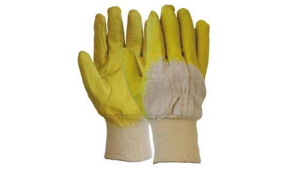 Werkhandschoenen Latex, 12 paar