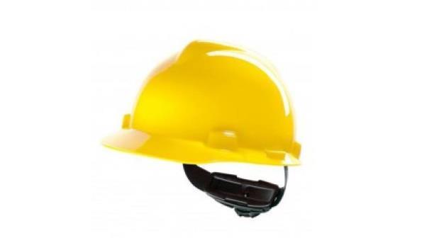 Veiligheidshelm geel