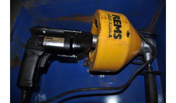 Fonkelnieuw Ontstoppingsapparaat merk REMS type 151 37138000 Mini-cobra A in ES-89
