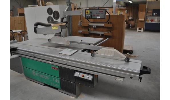 Spiksplinternieuw Formaatzaagmachine merk Altendorf type F45 Elmo | ProVeiling.nl IN-99