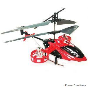 4CH Blue Metal Gyro Controller IR Control RC Helicopter