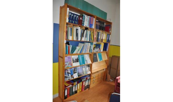 lundia boekenkast met inhoud 30x200x250cm