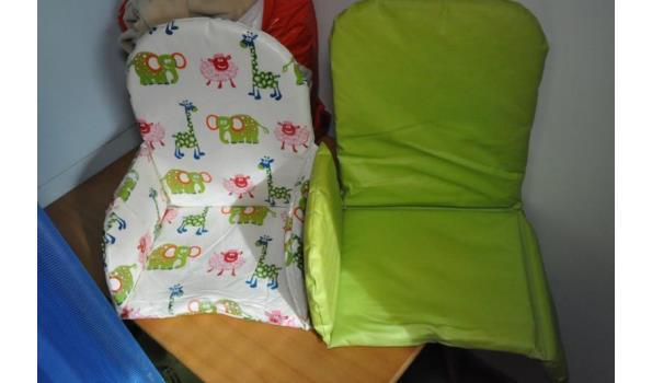 Zitje Voor Kinderstoel.Inleg Zitje Voor Kinderstoel 2 Stuks Proveiling Nl