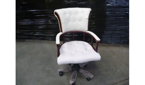 Design Bureaustoel Wit.Bureaustoel Engels Design Wit Nieuw Proveiling Nl