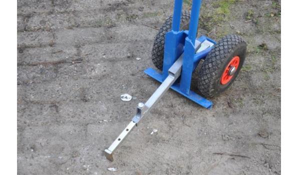 Tegel-donkey voor het ARBO-technisch verplaatsen van tegels