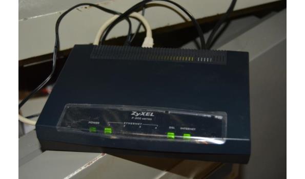 zyxel p 600 series