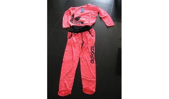 Verrassend Adidas huispak kleur roze maat l | ProVeiling.nl KD-33