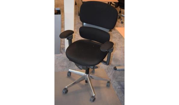Onderplaat Voor Bureaustoel.Workware Bureaustoel Zwart Met Onderplaat Proveiling Nl