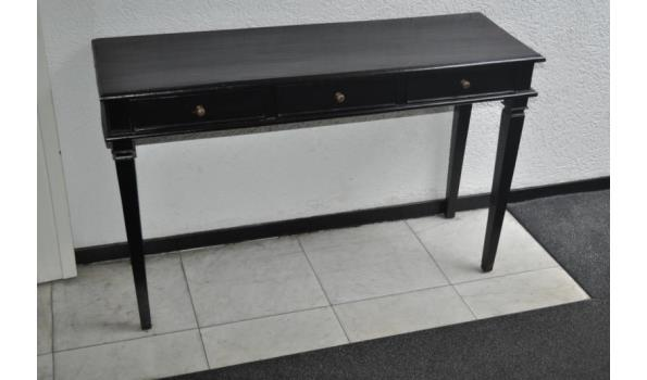Sidetable 3 Lades.Sidetable Zwart 3 Lades Proveiling Nl