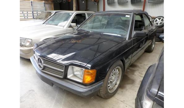 Mercedes 190 - Duits kenteken