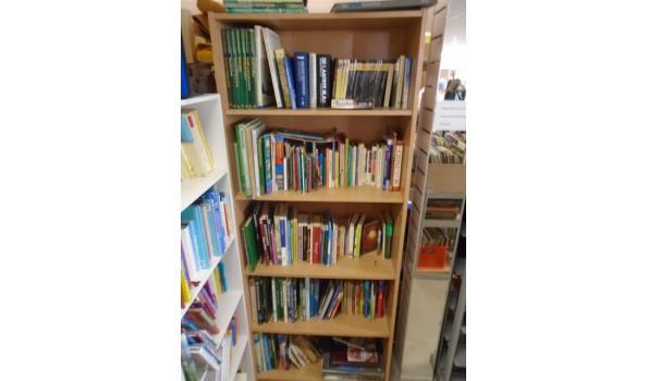 Boekenkast Vol Met Diverse Soorten Boeken Excl Kast Proveilingnl