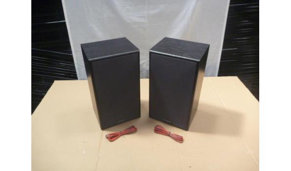 set a 2 Phillips ( magnavox ) frontmain speakers