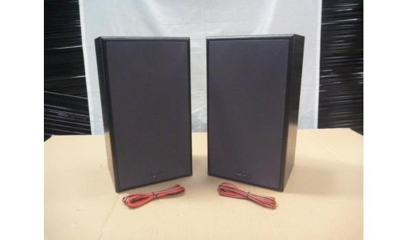 set a 2 Phillips ( magnavox ) frontman speakers