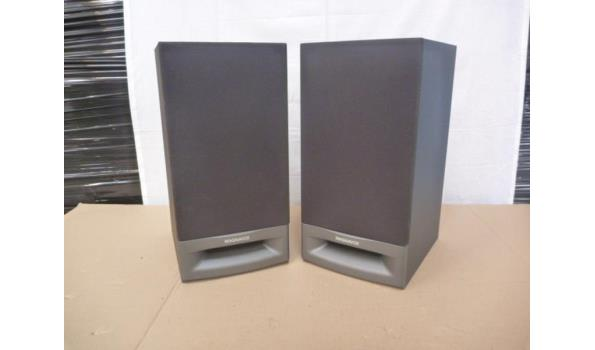 set a 2 Phillips ( magnavox ) speakers