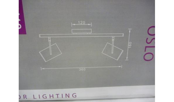 1 x wand/plafondlamp