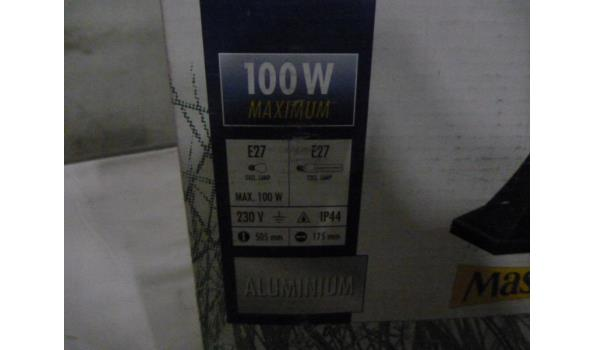1 x buitenlamp