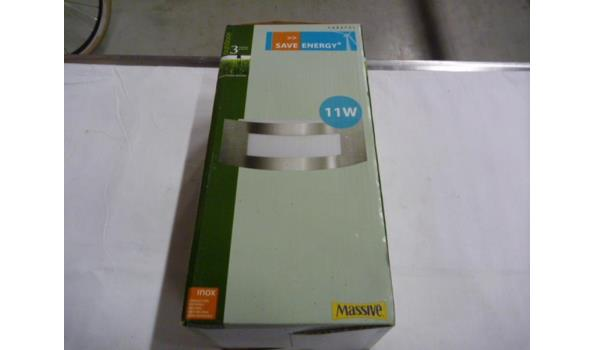 1 x wandlamp