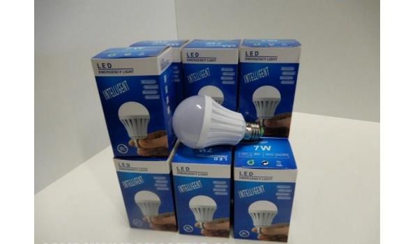 5 stuks Led lamp met ingebouwde accu