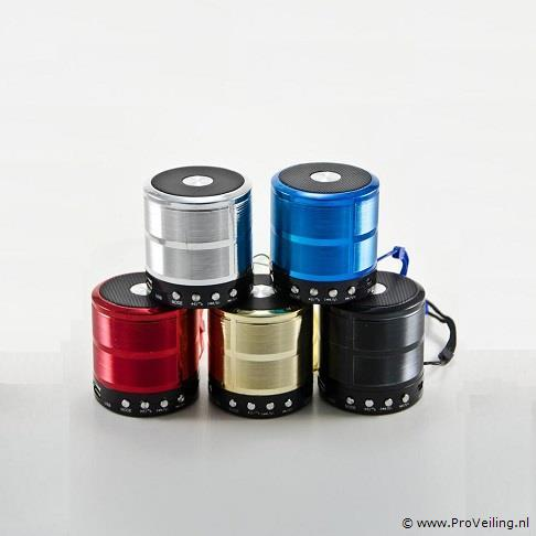 5 stuks bluetooth speakers mixed color