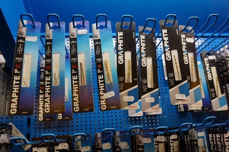 8 x staalboor 0,5-0,8-2,2-2,4-2,5-3-3,2-3,5mm
