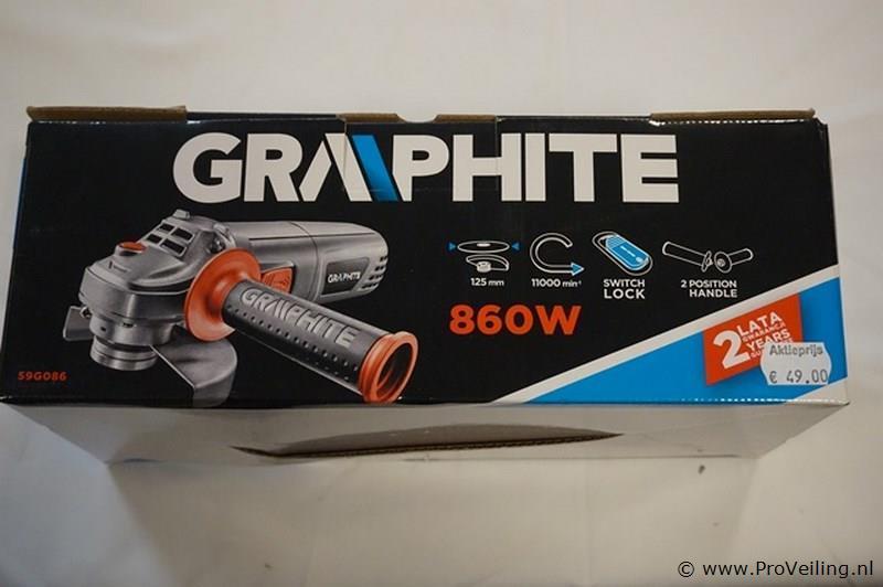 Graphite slijptol 860W