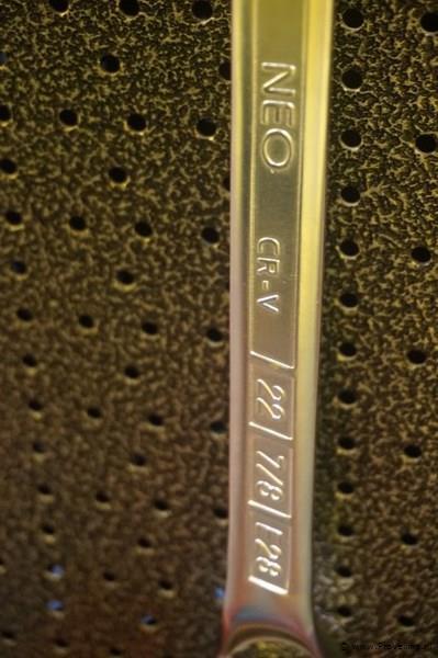 Neo ring steeksleutel 22mm