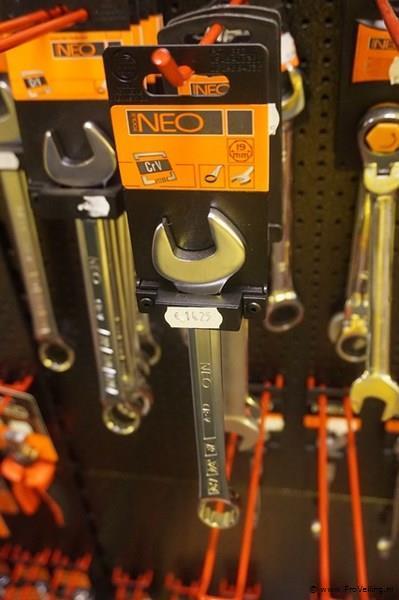 Neo ring steeksleutel 19mm