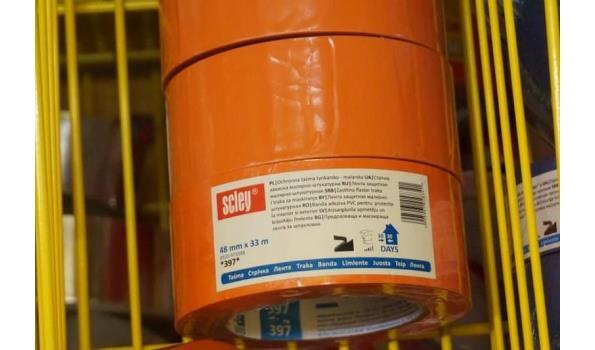 Isolatie tape 33m 48mm oranje