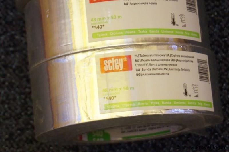 Aluminium tape 33m 48mm