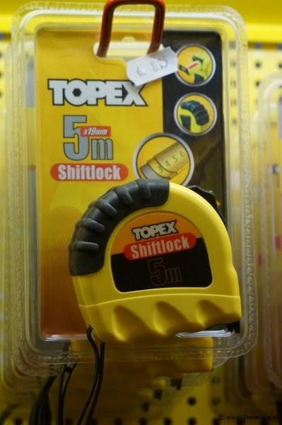 Rolmaat 5mx19mm Shiftlock