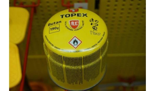 Topex Butan gas 190g