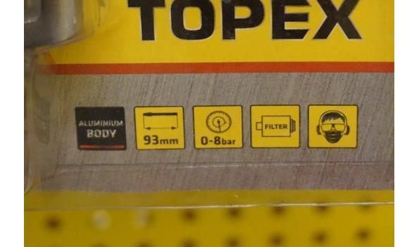 Topex luchtpistool 12 bar