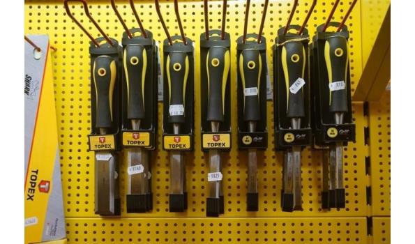 Beitelset 7 delig 10,12,14, 16,20,25 en 32mm