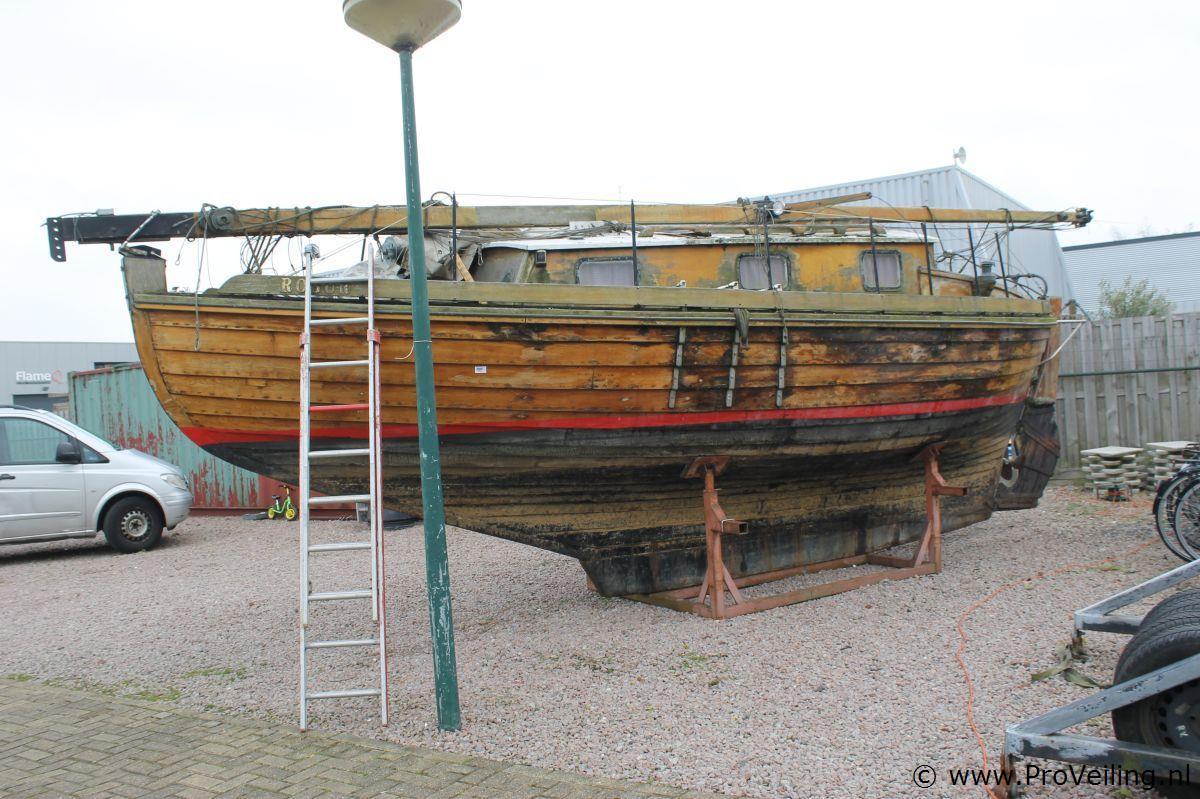 Houten Kajuit Zeilboot
