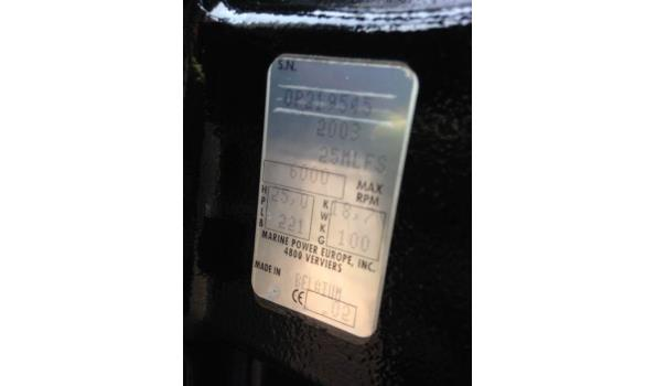 Nicky 420 Polyester Overnaadse Vis-/Tourboot