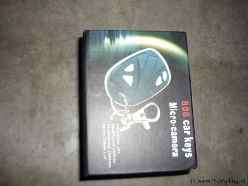 Auto sleutel micro camera