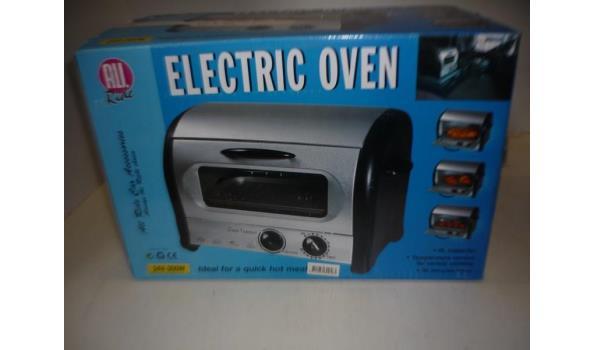 Elektrisch oven auto