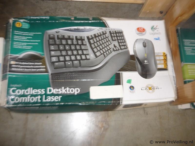 Logitech draadloos desktop
